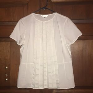 Brooks Brothers Short Sleeve Blouse